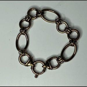 Vintage Sterling 😍Silver Horse Bit Charm Bracelet